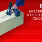 EBS 250 - Marcatore portatile a getto d'inchiostro indelebile