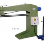 Aggraffatrice per lamiera Hyllus per interni/esterni ad azionamento sia manuale che motorizzate - Modello Grafmot Art. 315 e 315Mot