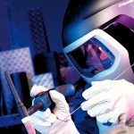 Maschere di saldatura a cristalli liquidi