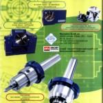 Produzione Scotti di contropunte, trascinatori, mandrini autocentrati, bride pneumatiche per rettifiche