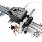 Carrelli motorizzati di saldatura su rotaia - mod. Squirrel CESM2 e con oscillatore elettronico integrato