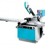 Troncatrice a nastro Imet con perno a ralla in versione semiautomatica idraulica nella versione - Modello BS350 SHI