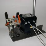 Carrello senza rotaia utilizza un piatto come guida di riferimento - Modello Tortuga
