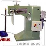 Bordatrice per lamiera Hillus ad azionamento elettrico - Modello 300 Robur-Erice-Nadir