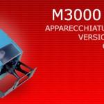 M3000 PN/EM - Apparecchiatura portatile versione elettrica o pneumatica