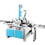 Segatrice a nastro semiautomatica elettroidraulica Imet per tagli da 0-45° destre e sinistra idonea al taglio frontale - Modello VTF500 SHI-E