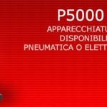 P5000 PN/EM - Apparecchiatura da banco disponibile in versione pneumatica elettromagnetica