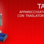 TAG3500 - Apparecchiatura da banco con traslatore automatico di etichette