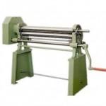 Rotolatrici per lamiera Hillus ad azionamento manuale con basamento - Modelli 286 Nora bis e successivi