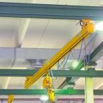 Impianto sospeso Omis/Fac a ponte manuale in profilato pressopiegato ad omega