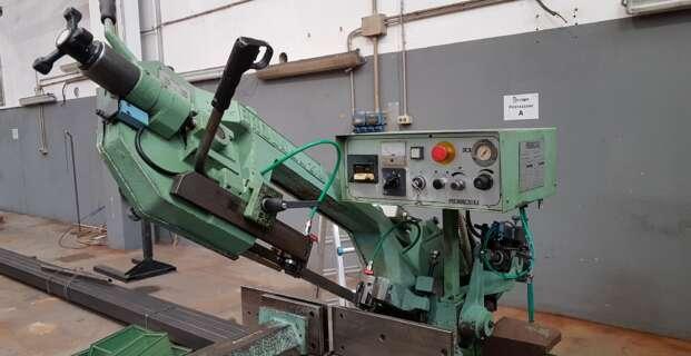 Troncatrice a nastro semiautomatica pneumatica pedrazzoli modello BROWN SN 270